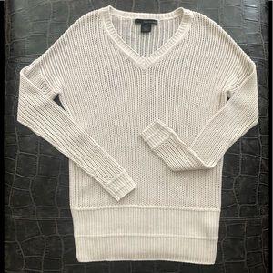 CALVIN KLEIN tan knit sweater